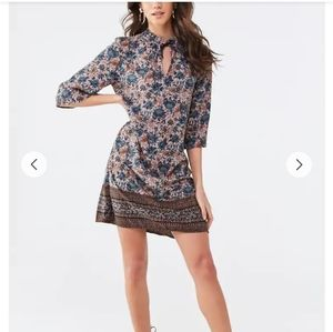 Nwt Paisley shift dress